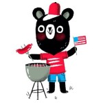 Happy 4th yall! alyssanassner created this patriotic bear celebrating overhellip