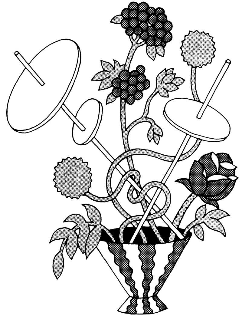 coloring pages french cafe - photo#25