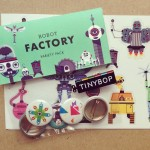 Good mail day! tinybop sent me some illustrated robot stickershellip