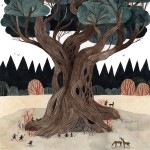 The quiet comfort of a large tree Illustration by carsonellishellip