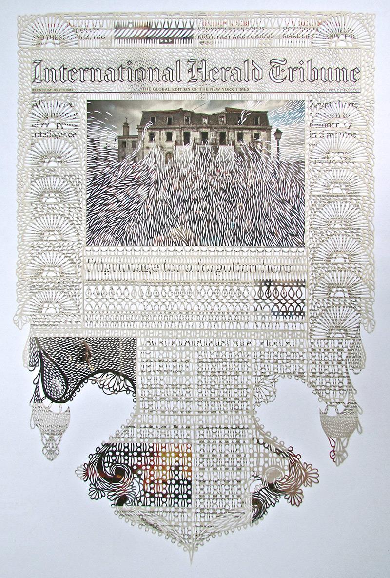 Myriam Dion Cut Paper