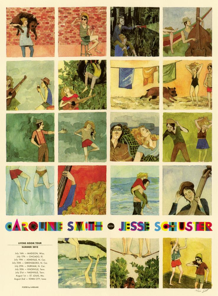 Landland - Gig Posters