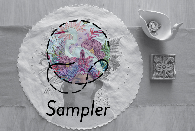 Laura McKellar for Sampler