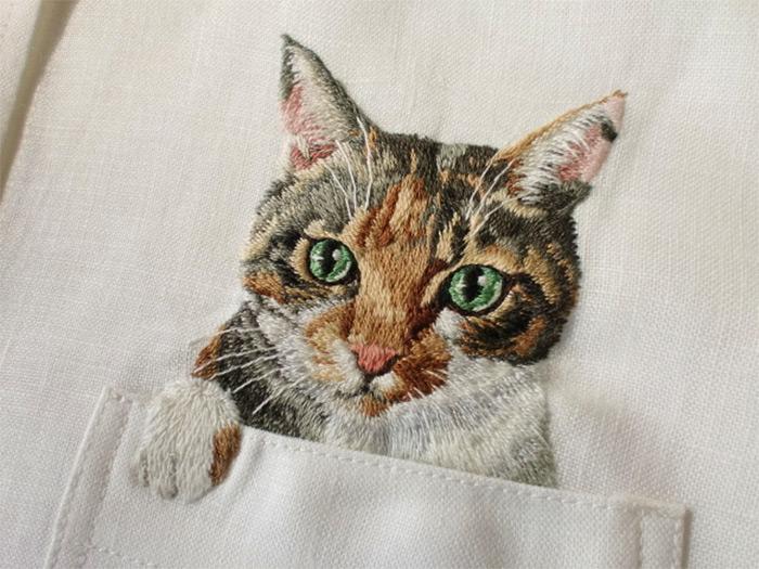 Hiroko Kubota - Embroidery