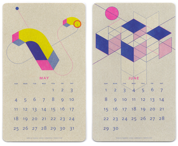 Paper Pusher - Calendar