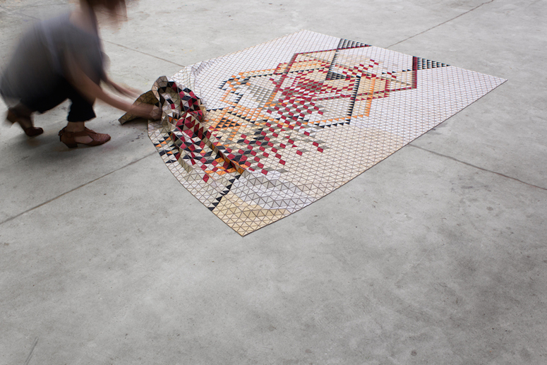 Elisa Strozyk S Cozy Looking Textiles Are Made Of Wood