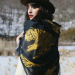 Leah Goren, F/W 2014: Scarves Collection
