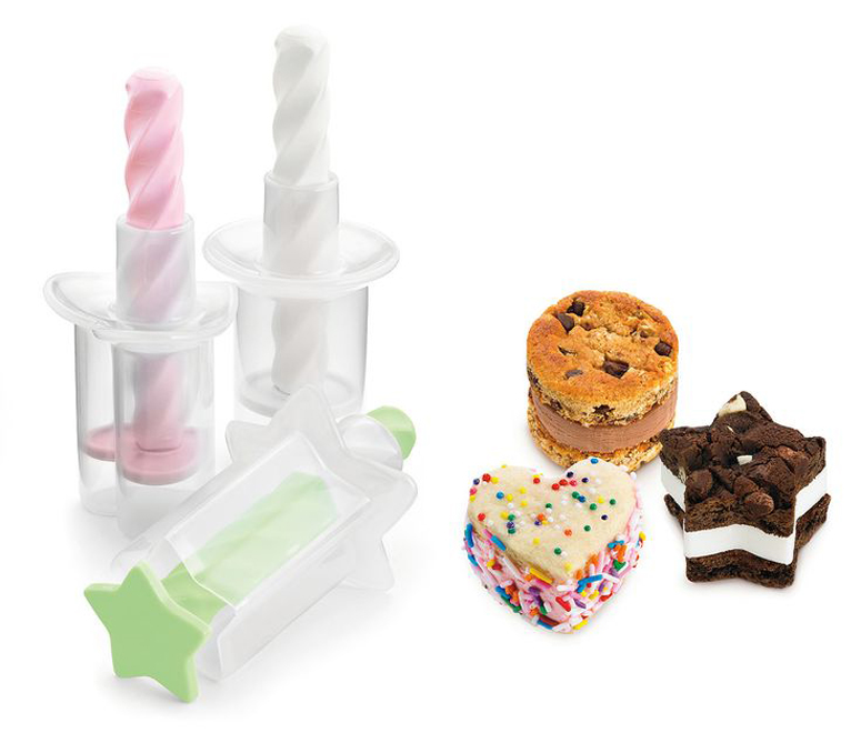 This is a mini ice cream sandwich press. I must have it!
