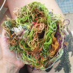 I inadvertently created an embroidery thread nest Dont think Ihellip
