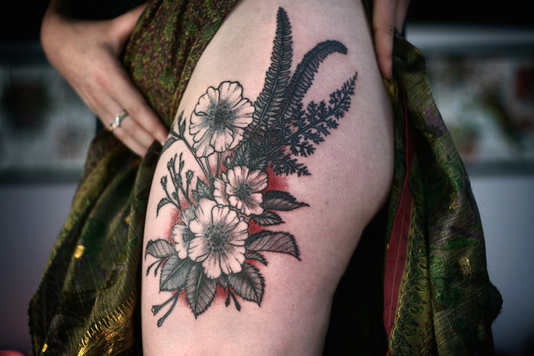 Alice Carrier Is A Tattoo Artist At Wonderland Tattoo In: Saturday Roundup: Tattoos I've Seen Lately And Liked