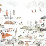 "Sarah Burwash Draws ""The Summit"""