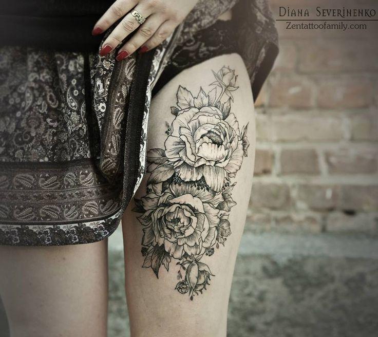 Diana Severinenko via  You got a henna tattoo that said forever