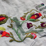 My Studio: Same Embroidery, More Flowers