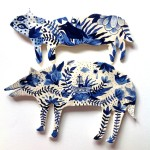 Beautifully-Adorned Ceramics by an Illustrator Named Aitch