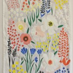 Lisa Rupp Illustrates Entire Gardens on Dishtowels