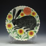Meticulously Patterned Folkloric Pottery by Sue Tirrell