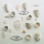 A Wall Covered in Tiny Ceramics? Yes, Please!