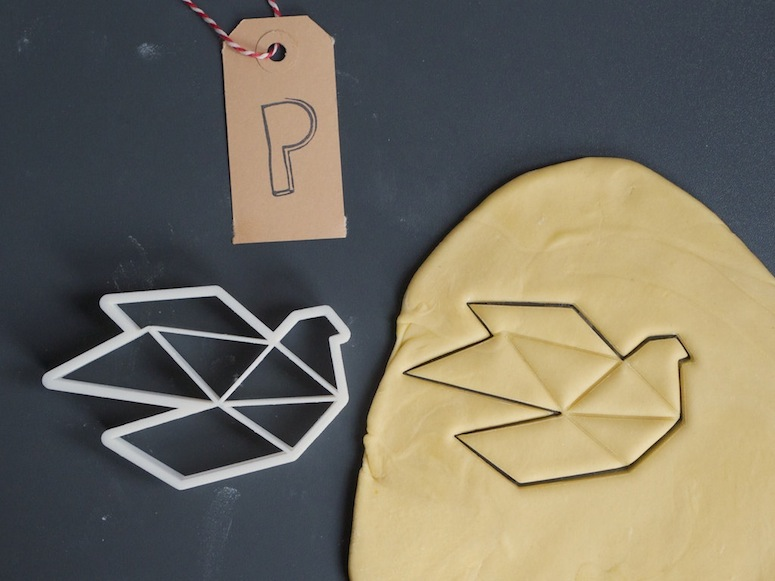 3D printed cookie cutter by Printmeneer