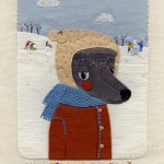 Applique Pooch Portraits by Olga Ezova-Denisova