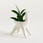 TONIGHT: Monica Ramos' Ceramic Alpaca Planters for Sale