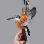 Life-Like Paper Sculpted Birds by Diana Beltran Herrera