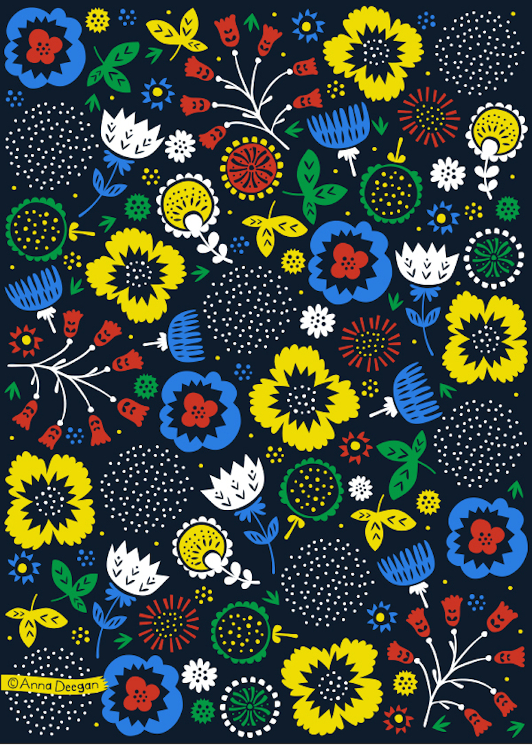 Anna Deegan repeating pattern