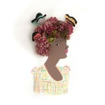 Emily Isabella's Adorable Portraits Use Real Flowers for Their Hairdos