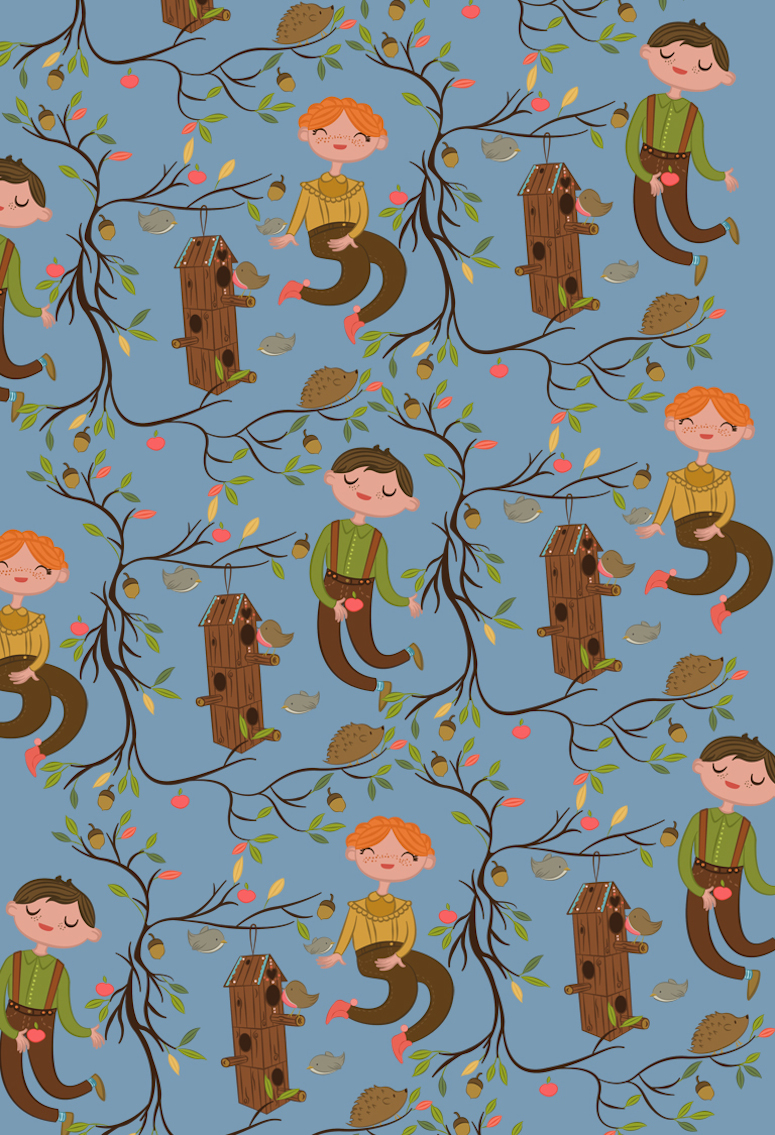 Isabel Reyes Feeney repeating pattern