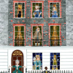 Amanda White's Cut Paper Collages of Writers' Houses