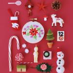 Happy Holidays! Festive Header Illustration by Hiné Mizushima