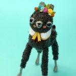 Adorably Fuzzy Llamas & Librarians by Cat Rabbit Plush