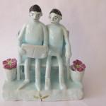Sweet Ceramic Figurines by Nico Masemula
