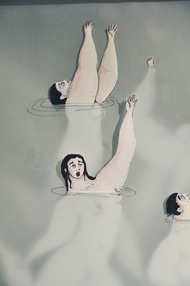 Sonia Alins Miguel ,Women Floating Illustrations #artpeople