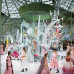 Chanel Couture's Amazing Floral Backdrop Featuring 300 Blooms