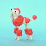 Fancy! Adorable Hand-Felted Cat Creatures and Regal Poodles