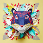 Insanely-Detailed Paper Animal Masks by Mlle Hipolyte