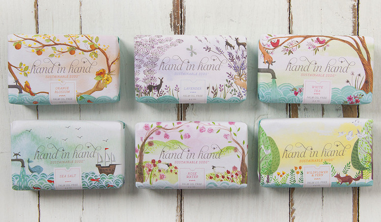 Soap Packaging So Lovely You Won T Want To Open It Brown Paper Bag