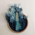 """Sonia Poli's Exquisite """"Vegetal Gradiant"""" Paper Sculpture"""
