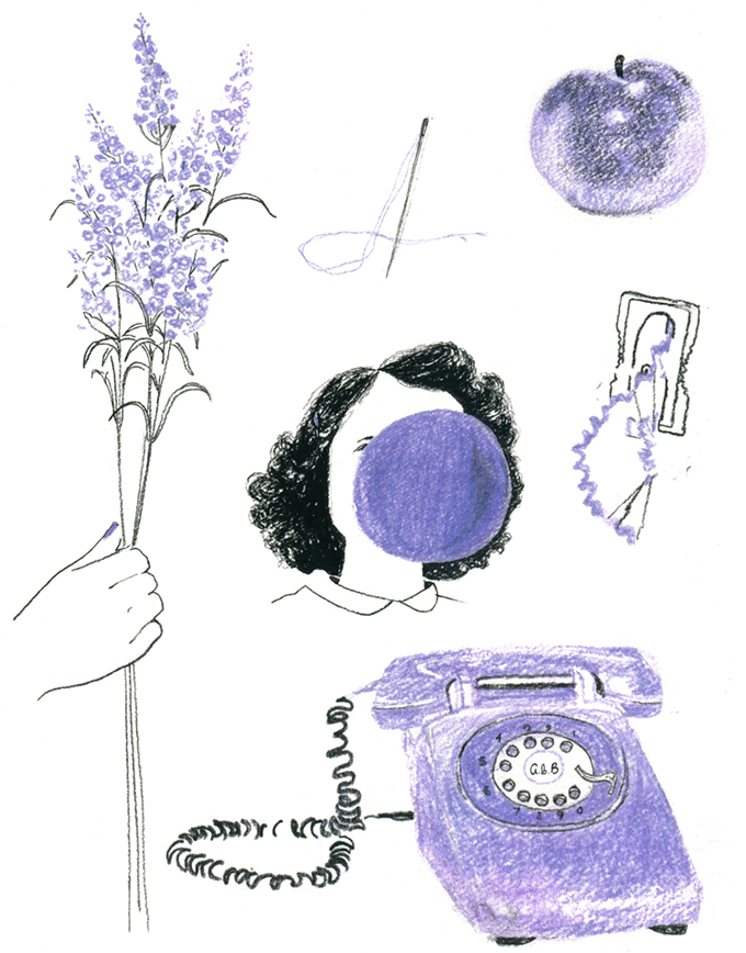 7. color theory, violet