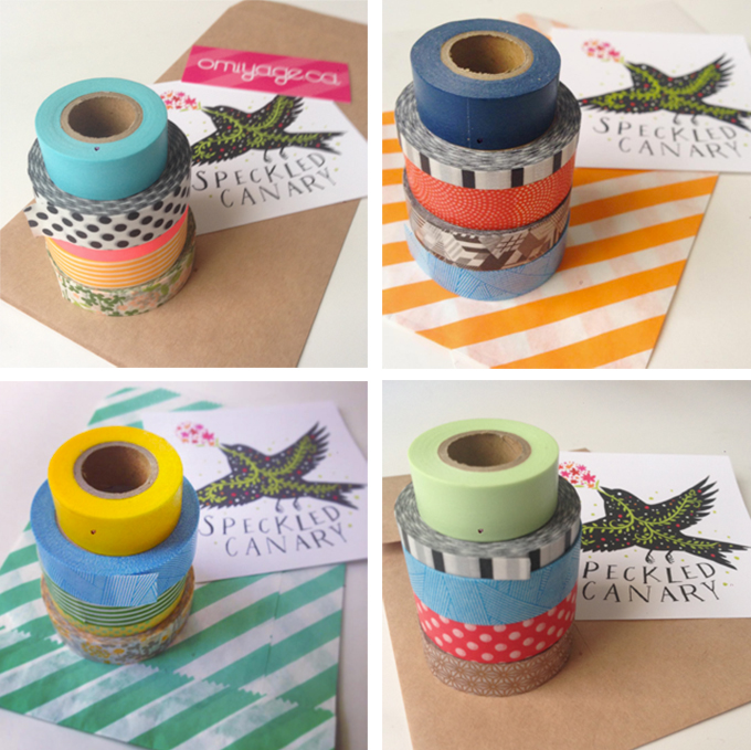 "Some of the ""Washi Tape Starter Kits"" I've sent!"