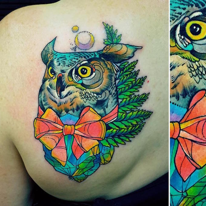 Katie shocrylas 39 colorful tattoos channel lisa frank - Ed hardy lisa frank ...