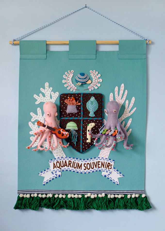 Hine Mizushima Crest Banner