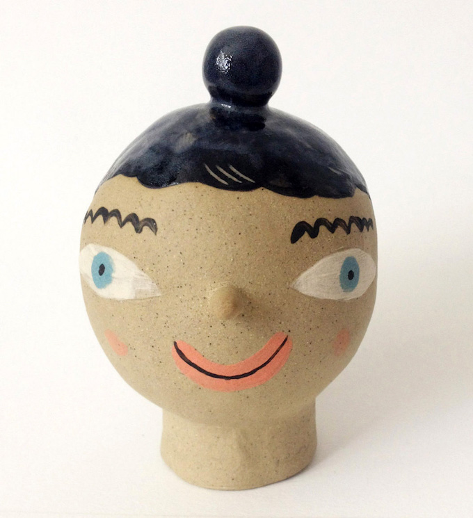 Laura Bird haired jar