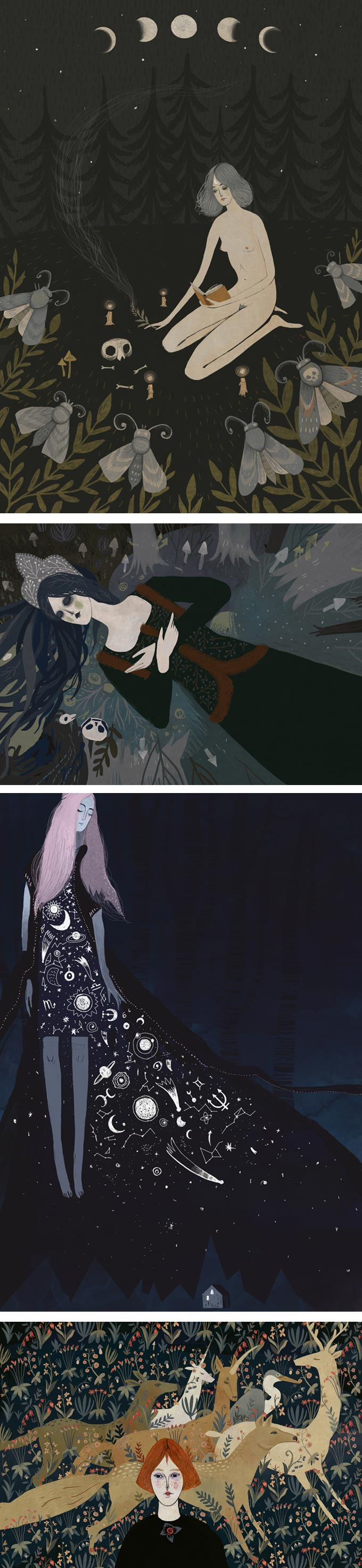 Illustrations by Alexandra Dvornikova