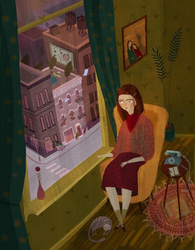 Chloe Bristol illustration