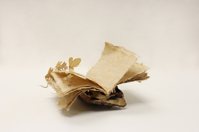 Handmade book by Pochiko HO