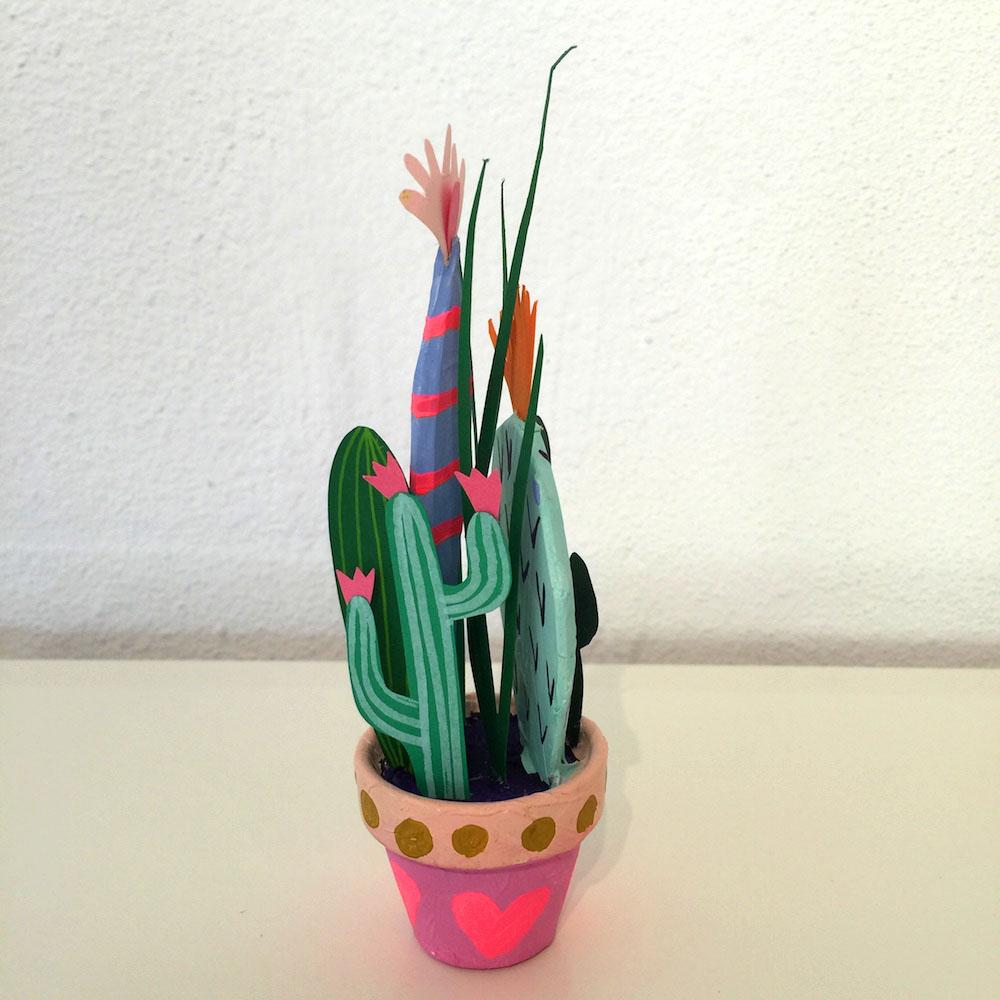 Kim Sielbeck paper cacti