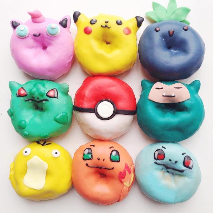 Donuts by Vickie Liu