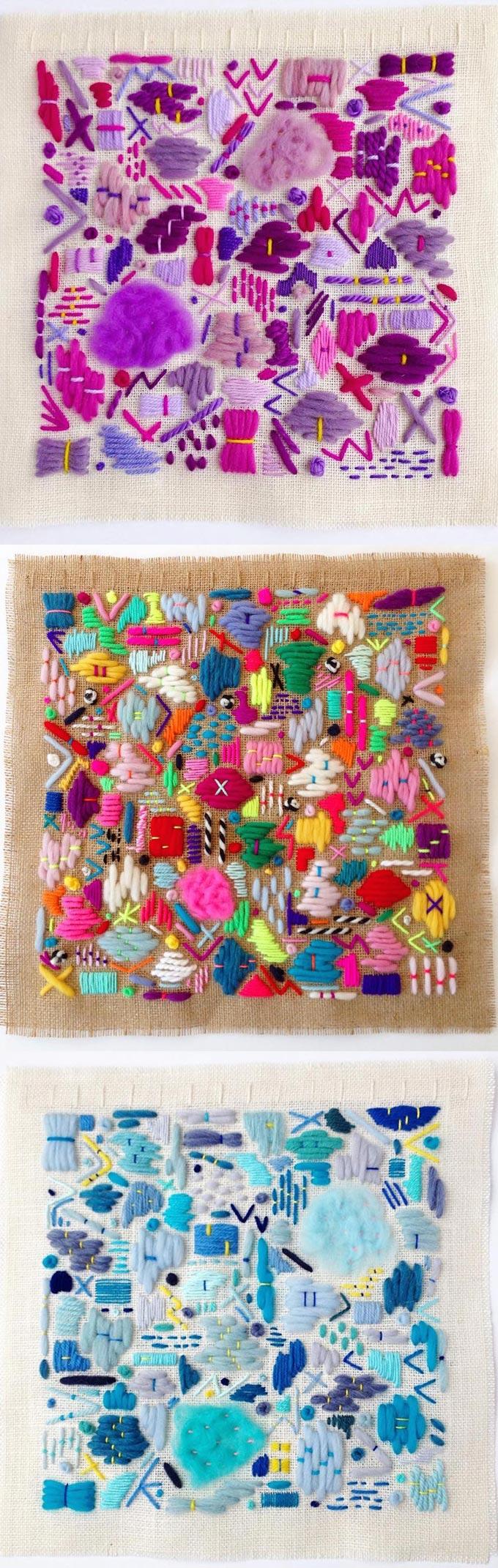 Elizabeth Pawle embroidery