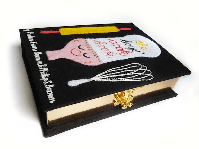 Mrs. Chaplin book clutches